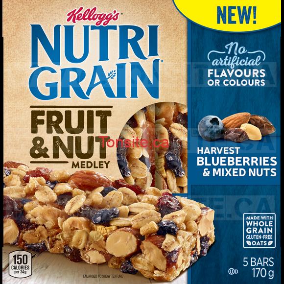 GRATUIT: Obtenez une boîte de Bars Nutri-Grain Fruit & Nut Medley 170g GRATUITE!