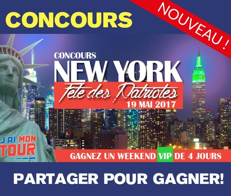 week end 4 jours new york