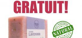 GRATUIT: obtenez gratuitement un pain de savon naturel 100% (50g) de Rocky Montain Soap