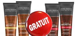GRATUIT: Commandez gratuitement des échantillons des shampoings et revitalisants John Frieda