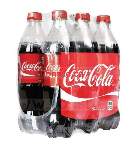 Emballage de 6 bouteilles de Coca Cola à 2$ seulement!