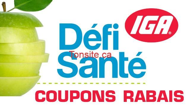 Nouveau coupons iga d fi sant - Code promo comptoir sante ...