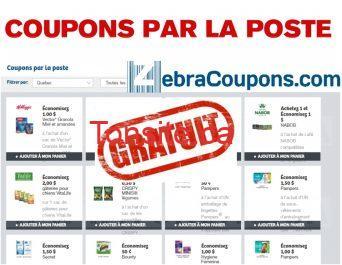 Recevez GRATUITEMENT une enveloppe de plus de 50 coupons rabais ZebraCoupons