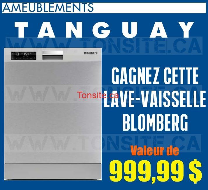 Ameublement tanguay gagnez une lave vaisselle de la for Liquida meuble tanguay
