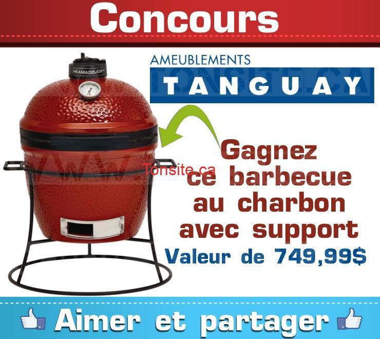 Concours ameublements tanguay gagnez un barbecue au for Liquida meuble tanguay