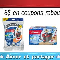Coupons rabais Vileda