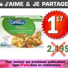 Pâtes alimentaire Catelli Bisto à 1,17$ au lieu de 2,49$