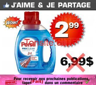Détergent à lessive Persil (1,18 L) à 2,99$ au lieu de 6,99$