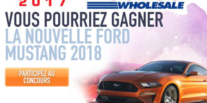 Costco concours mustang