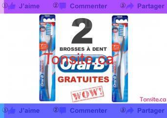 Obtenez 2 emballages de soie dentaire Oral B GRATUITEMENT!