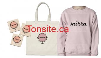 GRATUIT: Obtenez un chandail, un sac fourre-tout, un mirroir compact et plus encore GRATUITEMENT!