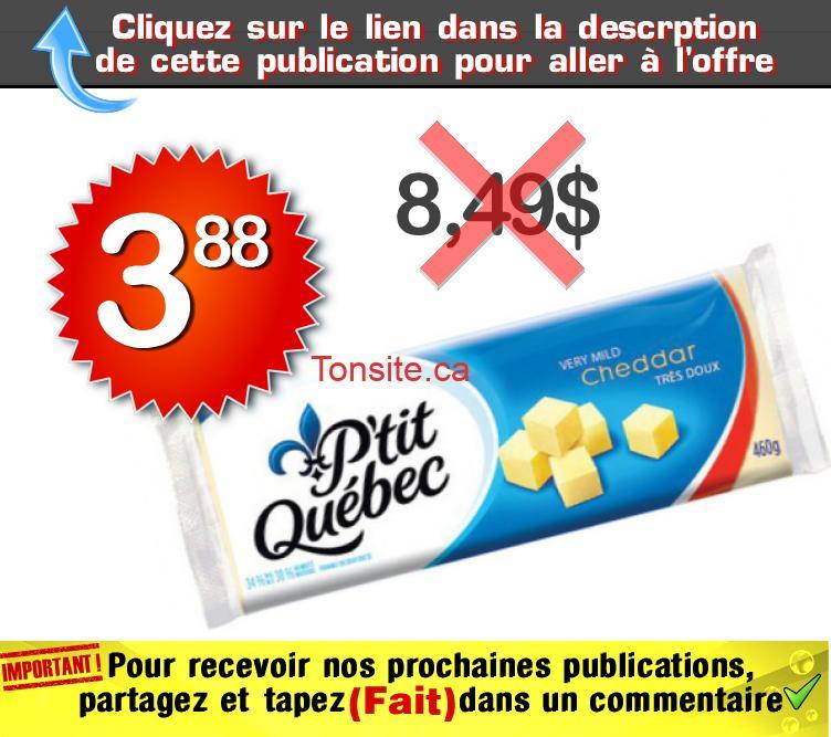 ptitqc 388 849 1 - Barres de fromage P'tit Québec à 3,88$ au lieu de 8,49$