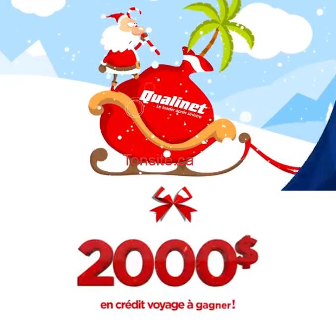 qualinet concours - Concours Qualinet: 2000$ en crédit voyage à gagner!