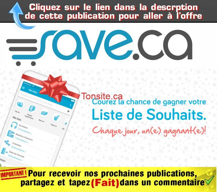 Concours Save: Gagnez 1 des 10 cartes-cadeaux prépayées Visa de 200$