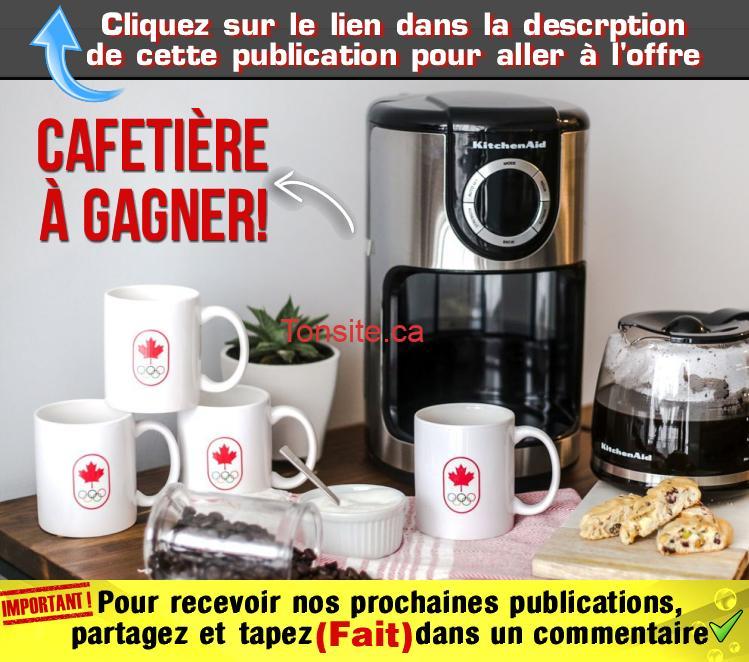 cafetiere olympic - Concours de l'équipe olympique Canadienne: Gagnez une cafetière KitchenAid