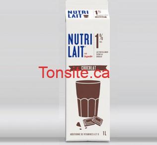 nutrilait1 - Lait au chocolat Nutrilait (1L) à 99¢ seulement!