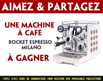rocket concours - Participez pour gagner une machine à café Rocket Espress Milano