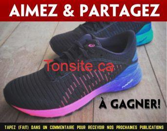 asics concours - Gagnez une paire de chaussure Asics de 180$
