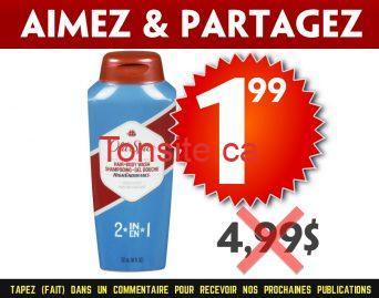 old spice 199 499 - Gel douche Old Spice à 1,99$ au lieu de 4,99$