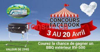 roulottes gauthier concours - Concours: Gagner un BBQ extérieur d'une valeur de 299$