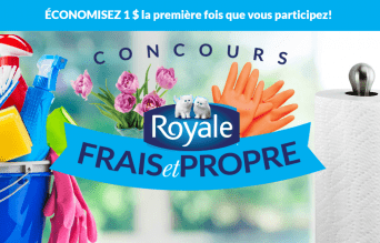 royale concours printemps - 500$ de coupons ROYALE à gagner!