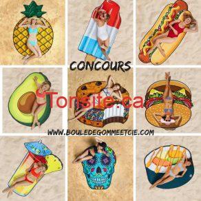 serviette concours - Concours: Gagnez la serviette de votre choix!