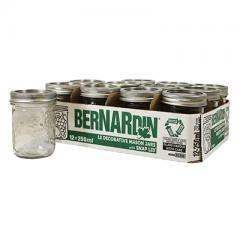 bernadin 240x240 - Coupon rabais de 2$ sur une caisse de bocaux en verre Bernardin (emballage de 12)
