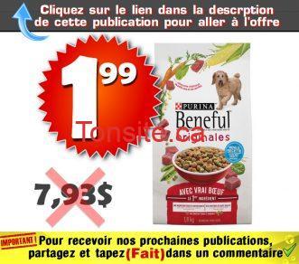 benefull 199 793 - Nourriture séche pour chiens Benefull de 1,8 kg à 1,99$ au lieu de 7,93$
