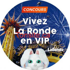 cascades ronde - Concours Cascades: Gagnez un forfait familial VIP à La Ronde (valeur de 1300$)
