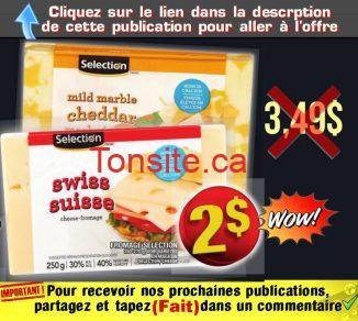 selection fromage 2 349 - Barre de fromage Selection à 2$ au lieu de 3,49$