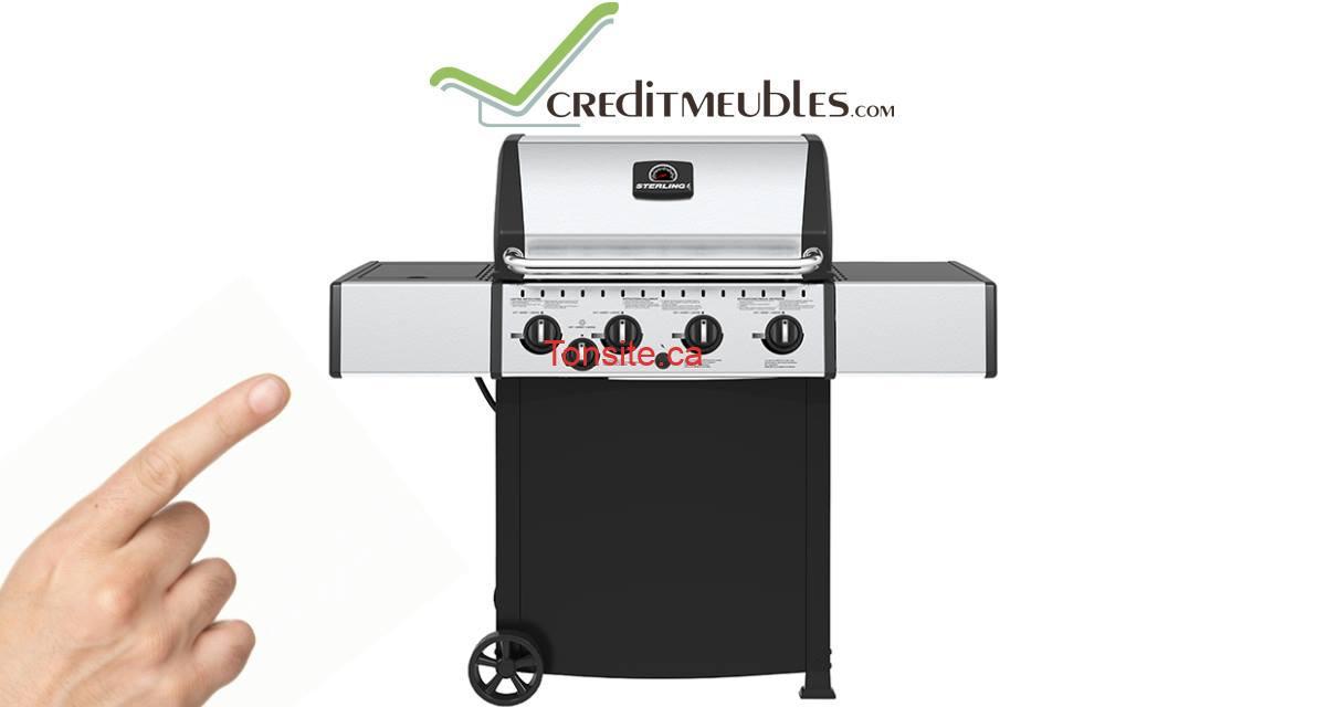 BBC CONCOURS - Un Barbecue au gaz propane, 50 000 BTU à gagner