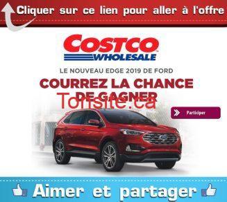 costco concours ford e1533798417614 - Concours Costco: Gagnez la nouvelle Ford Edge 2019 (valeur de 48,289$)