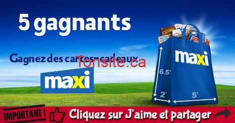 maxi concours 2018 - Concours Maxi: Gagnez des cartes-cadeaux Le Choix du Président (5 gagnants)
