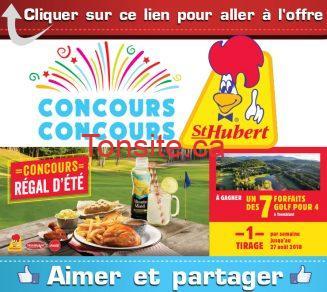 st hubert concours ete 2018 - Concours St-Hubert: Gagnez 1 des 7 forfaits golf pour 4 personnes à Tremblant (valeur de 1090$)