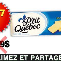 PTITQC 397 OFF 240x240 - Barre de fromage P'tit Québec à 3,97$ au lieu de 7,99$