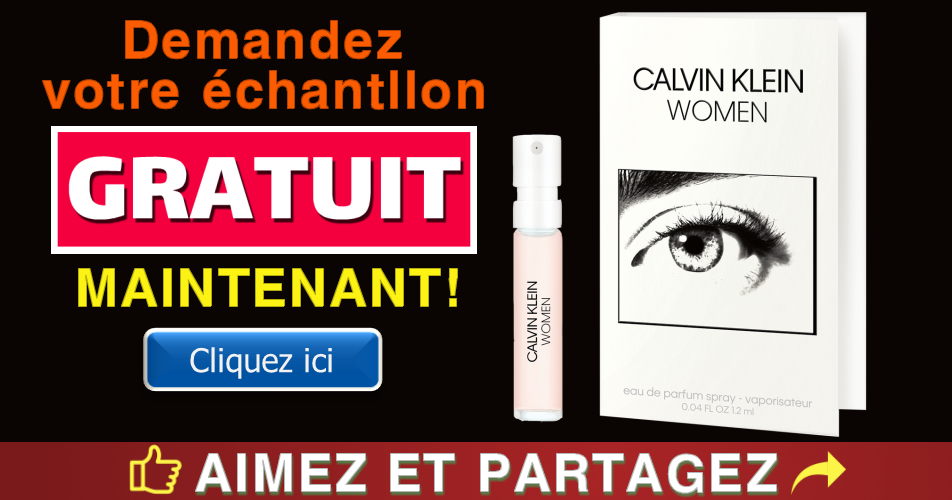 calvin klein echantillon gratuit - Obtenez un échantillon gratuit d'eau de parfum Calvin Klein Women
