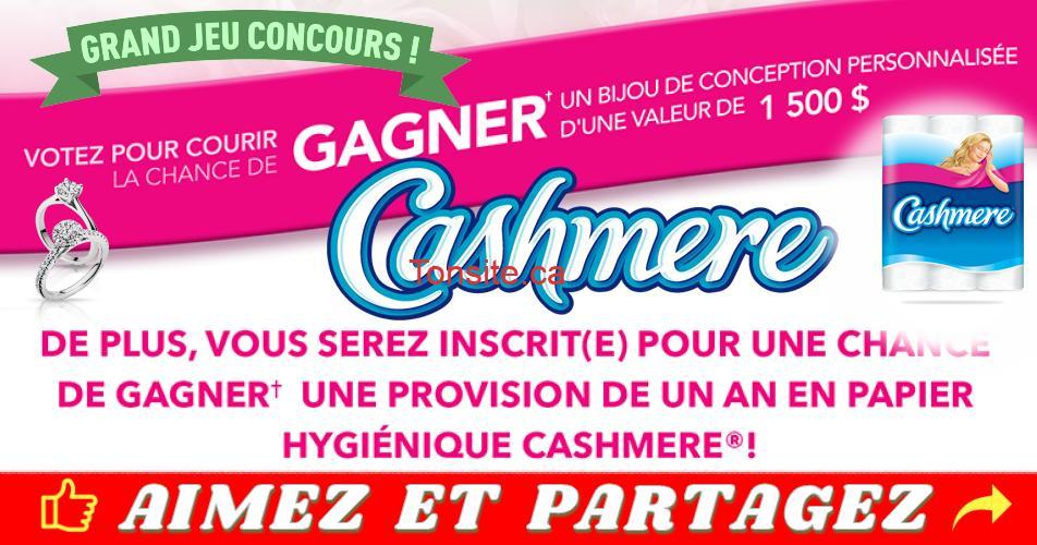cashmere concours2018 1 - Concours Cashmere: Gagnez 1 bijou de 1500$ ou une provision de 1 an en papier hygiénique Cashmere