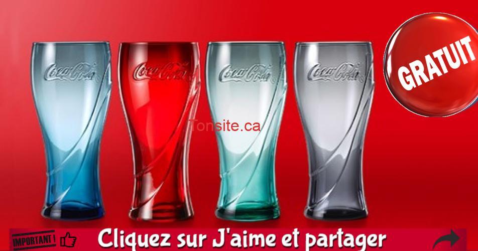 coca verre 1 - Mc Donald's chez Walmart: Obtenez un verre Coca-Cola gratuit