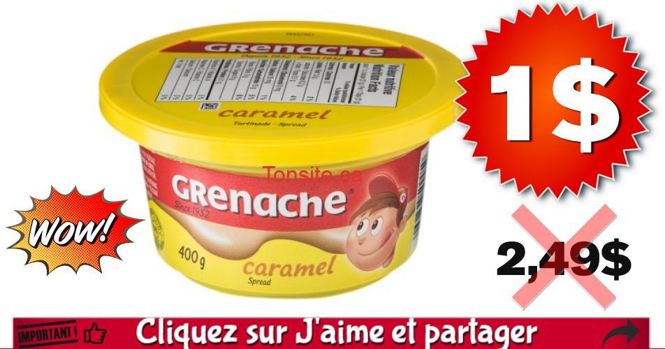 grenache 1 249 - Tartinade Grenache Caramel à 1$ au lieu de 2.49$
