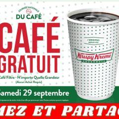 krispy cafe gratuit 240x240 - Krispy Kreme: Obtenez un café gratuit le samedi 29 septembre