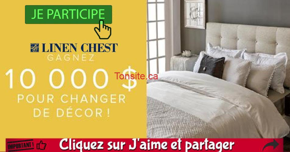 linen chest concours4 - Concours Linen Chest: Gagnez 10,000$ pour changer de décor!