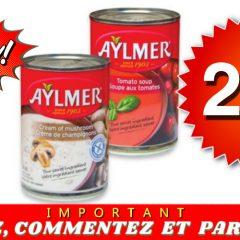 aylmer 27 240x240 - Soupe Aylmer à 27¢ seulement!