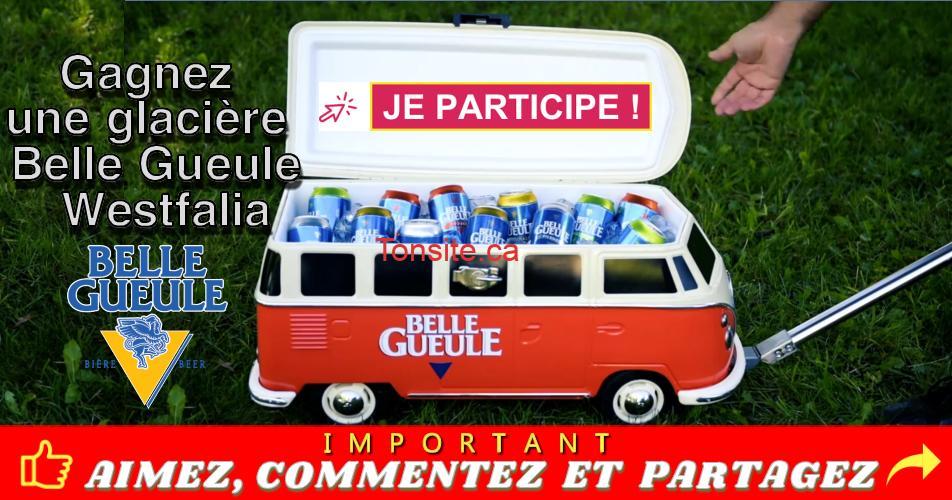 belle gueule concours - CONCOURS: Glacière Belle Gueule Westfalia à gagner!