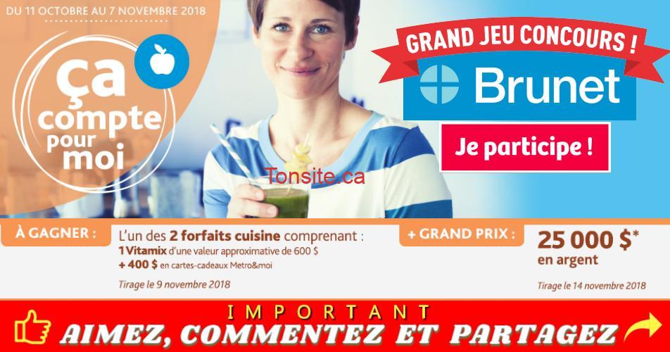 brunet concours 25000 - Concours Brunet: Participez et Gagnez 25 000$ en argent comptant !