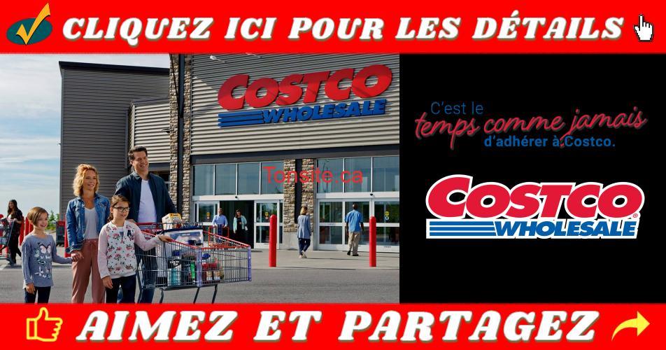 costco abonement - Costco: Obtenez un bon-cadeau gratuit de 20 $ avec toute nouvelle adhésion