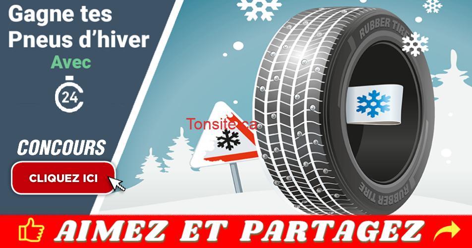 credit24 concours - Gagnez l'un des 4 ensembles de pneus Nokian (valeur de 1000$ chacun)
