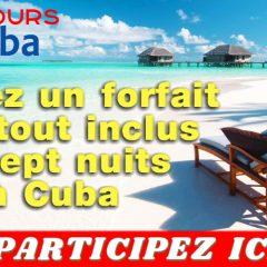 cuba concours4 240x240 - Gagnez un forfait Duo tout inclus de sept nuits à Cuba, dont trois nuits à La Havane et quatre nuits à Varadero