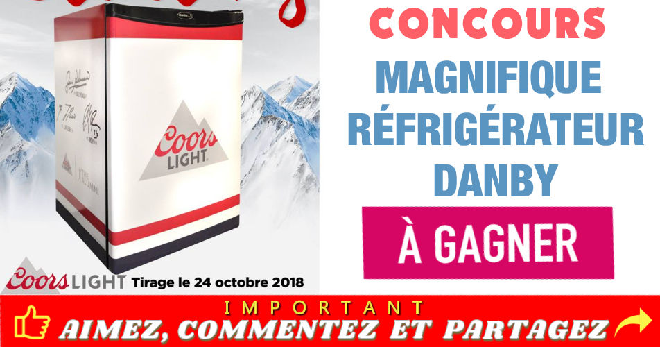 """danby concours - Gagnez un réfrigérateur Danby """"autographié"""" par les grands Jean Bélieau, Guy Lafleur et Patrick Roy"""
