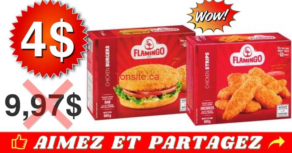 flamingo 4 997 - Poulet pané surgelé Flamingo à 4$ au lieu de 9,97$