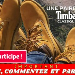 globo timberland concours 240x240 - Concours Globo: Gagnez une paire de bottes Timberland classiques